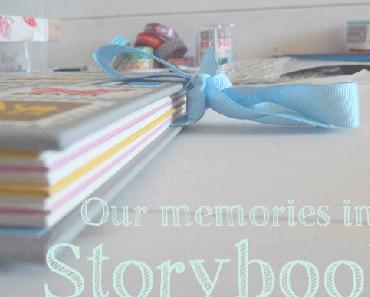 Storybook #1 - Der Beginn meines Scrapbooks