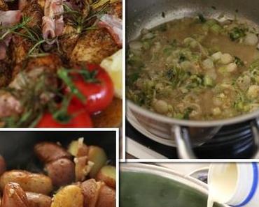 Ich koche mittlerweile das 17. Menü aus dem Jamie Oliver 30 Minuten Kochbuch