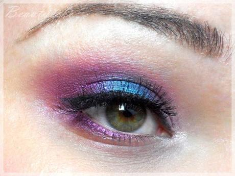 Super Bold Eye Makeup - nachgepinselt