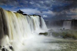Wie ein Wasserfall