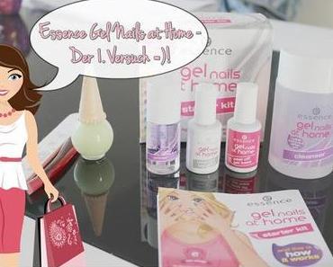 Essence 'Gel Nails at Home' - Der 1. Versuch mit dem Colour Look-Kit *Review*