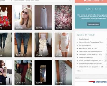 Kleiderkreisel: Kleidung tauschen, verkaufen und verschenken