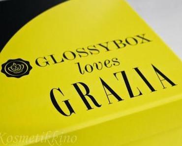 Glossybox Juni 2013   Grazia Edition