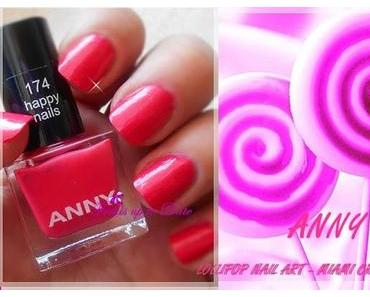 "Anny - LOLLIPOP NAIL ART Collection - "" Happy Nail's Nr. 174"""