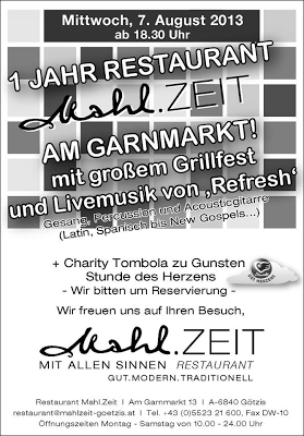 Happy Birthday, Restaurant Mahl.Zeit in Götzis Garnmarkt
