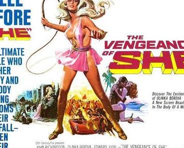 Review: THE VENGEANCE OF SHE - Keine Rache, nicht mal kalt serviert