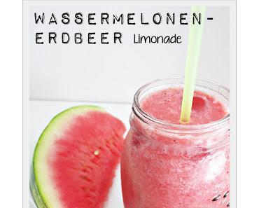 Wassermelonen-Erdbeer Limonade