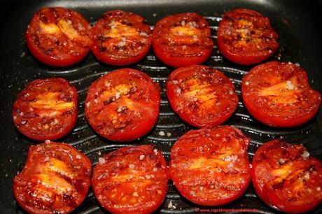 Leichte Sommerküche : Leichte sommerküche u2013 Ölfreies minzpesto mit grilltomaten