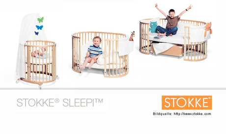 stokke sleepi das wandelbare bett. Black Bedroom Furniture Sets. Home Design Ideas