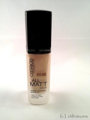 [Beauty] Catrice All Matt Plus Shine Control Make Up