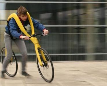 Das Fliz-Bike: Fahrrad mit Fußkraft aus Halle an der Saale