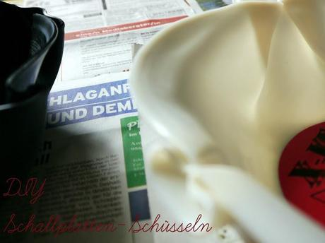 {Do It Yourself} Schüsseln aus Schallplatten