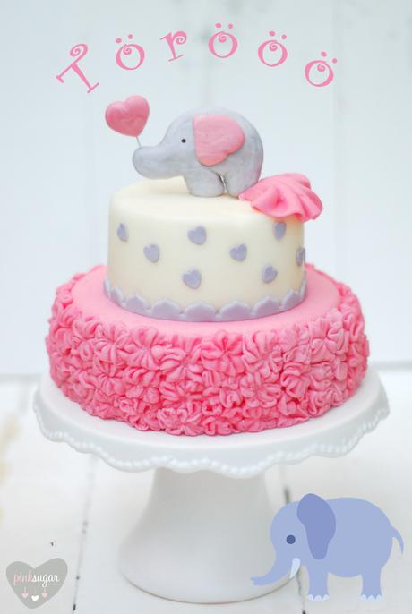 Kleine Torooo Ruschen Torte