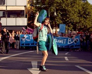 Silent Climate Parade – Leise tanzend für eine nachhaltige Zukunft