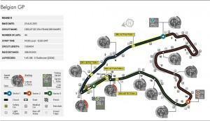 Formel 1: Vorschau Großer Preis von Belgien 2013