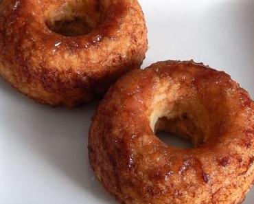 Gebackene Zimt-Donuts