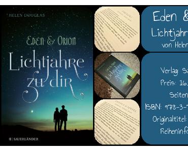 [Rezension] Eden & Orion – Lichtjahre zu dir