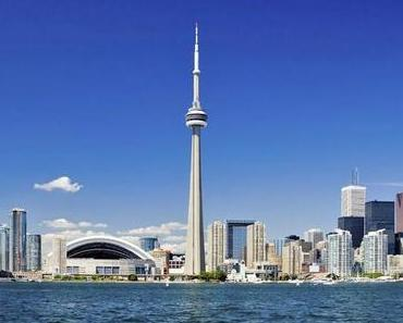 CN-Tower Toronto. Spaziergang am Abgrund