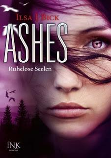 Book in the  post box: Ashes - Ruhelose Seelen