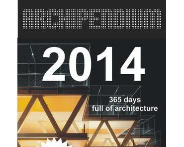 Architekturkalender ARCHIPENDIUM 2014
