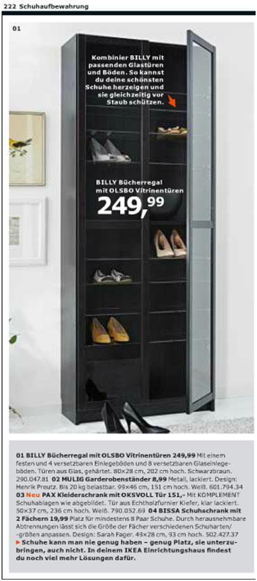 ikea billy als schuhregal. Black Bedroom Furniture Sets. Home Design Ideas