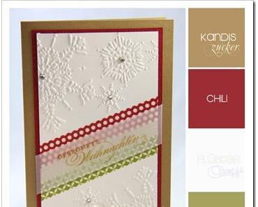 Weihnachtskarten + Stampin' Up! News und Angebote