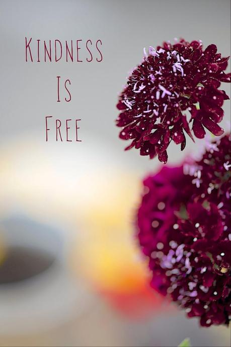 Kindness is free picture
