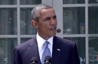 Obama in der Krise: Präsident bekam bei Spaziergang kalte Füße…