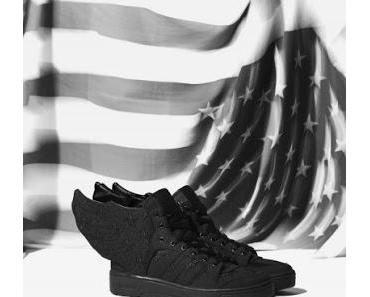 Adidas Originals x Jeremy Scott x A$AP Rocky JS WINGS 2.0 Black Flag