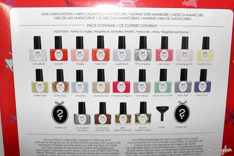 Preview: Ciaté Adventskalender 'Mini Mani Month' 2013