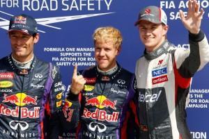 Formel 1: Vettel holt Pole in Monza, Hülkenberg sensationell Dritter