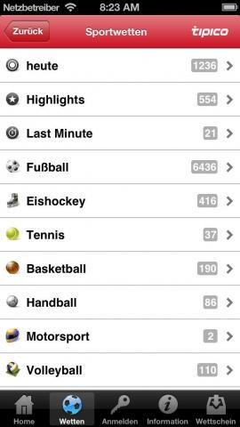 tipico app probleme