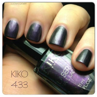 KIKO 433 Gothic Purple // Dark Heroine Edition