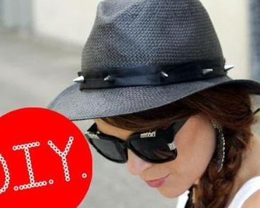 """DIY: """"Pimp your hat Part II"""": Stachel-Hutband"""