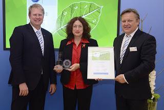 AIDA Cruises für umweltfreundliches Flottenmanagement mit Green Fleet Award ausgezeichnet
