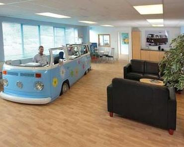 vw bus – office