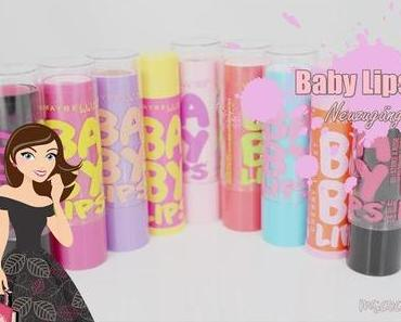 Maybelline Baby Lips 'Strike a Rose & Pink Shock'