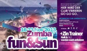 Nicki und Halil bringen Zumba-Fun and Sun in den Robinson Club Jandia Playa