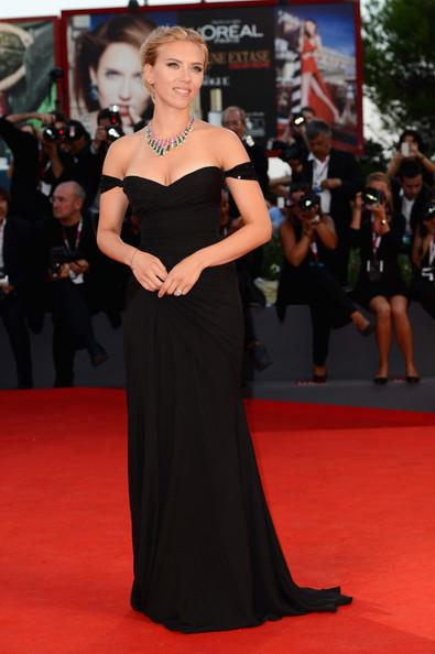 Scarlett Johansson wears Versace at The 70th Venice Film Festival 1