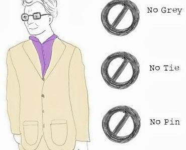 Cartoon: Modeanleitung für Herren aus dem Kunstbetrieb
