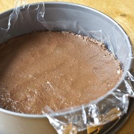 nutella zwieback kuchen mit joghurt sahne creme und himbeeren ohne backen. Black Bedroom Furniture Sets. Home Design Ideas