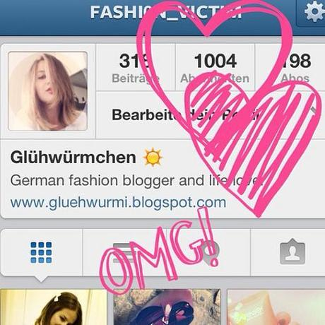1.000 FOLLOWER  THANK YOUUUUUUU!!  #follow #follower #followerpower #like #omg #like #me #blog #blogger #hearts #heart #1000 #happy #girl #fashionblogger #fashionblogger_de #fun #fashion #style #pictures #today #thankyou #youarethebest #best