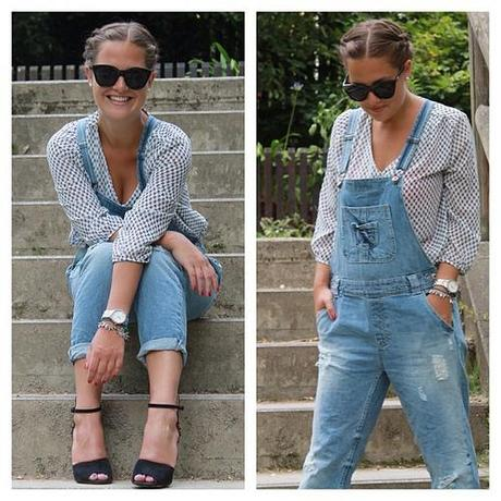 Neuer Post auf dem Blog  #blog #blogger #blogpost #brunette #style #outfit #fun #follow #fashion #fashionsita #fashionblogger #fashionblogger_de #hair #life #like #trend #zara #ig #iphoneonly #post #pumps #photooftheday #shoes #smile #girl #dungarees #les