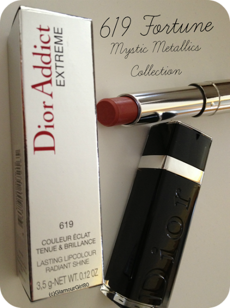Dior Addict Extreme 619 Fortune // Mystic Metallics Collection