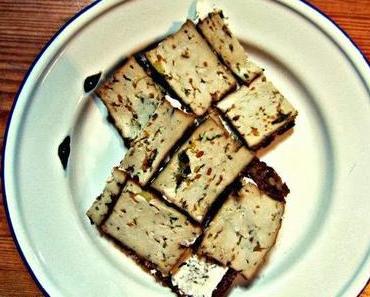 Gemüse -Tofu Vollkornbrot..