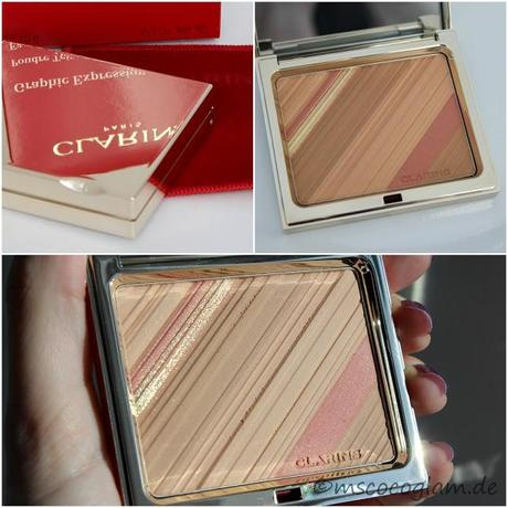 Clarins 'Graphic Expression Poudre Teint & Blush' *Review*