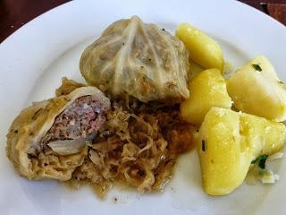 Krautwickel / Stuffed Cabbage Rolls