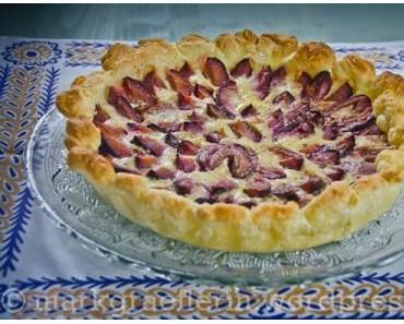 Sonntags-Café: Schnelle Blätterteig-Zwetschgen Tarte