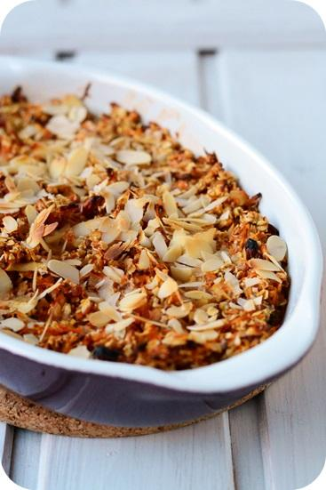Baked Apple-Carrot-Oatmeal