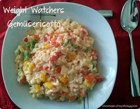 [Rezept] Weight Watchers Gemüserisotto